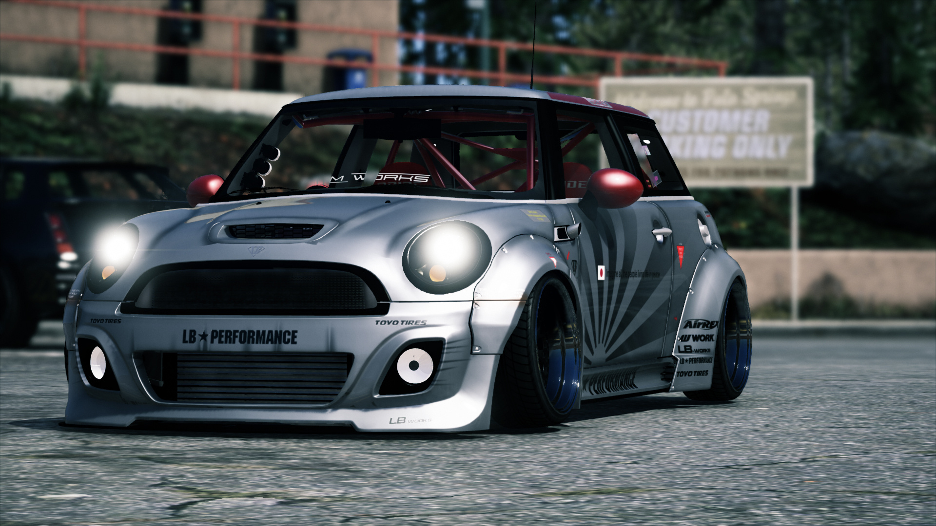 mini cooper r56 gp liberty walk add on extras template. Black Bedroom Furniture Sets. Home Design Ideas