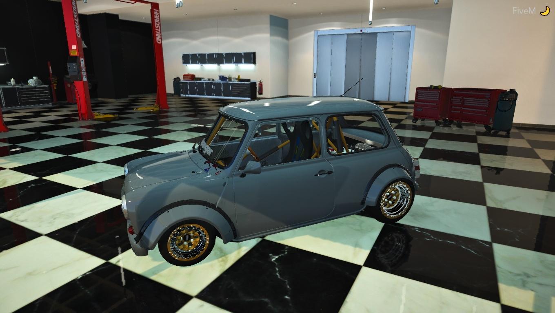 Mini cooper RWD swapped k series engine! - GTA5-Mods com
