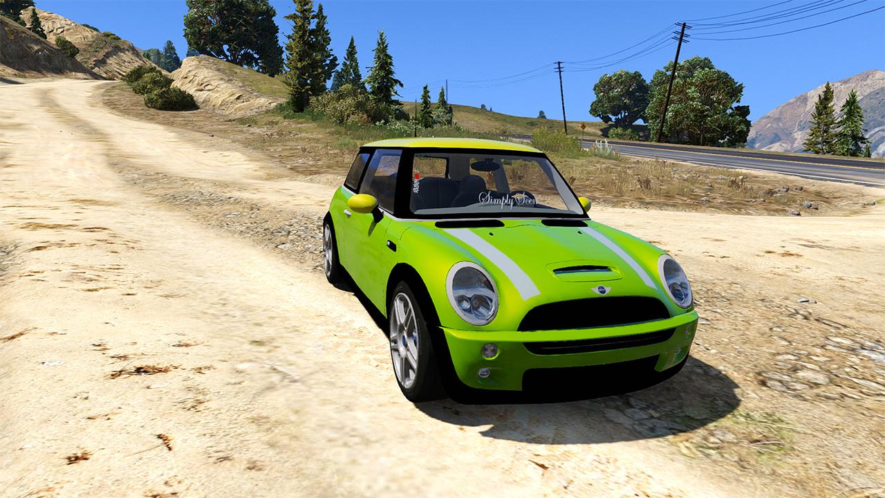 Mini Cooper S Euro - GTA5-Mods com