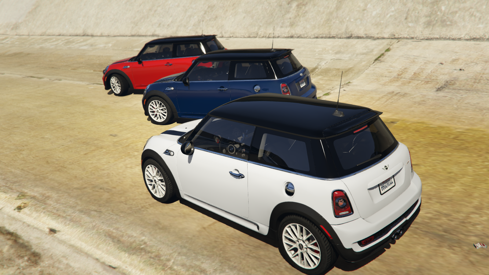 mini john cooper works add on replace tuning gta5. Black Bedroom Furniture Sets. Home Design Ideas