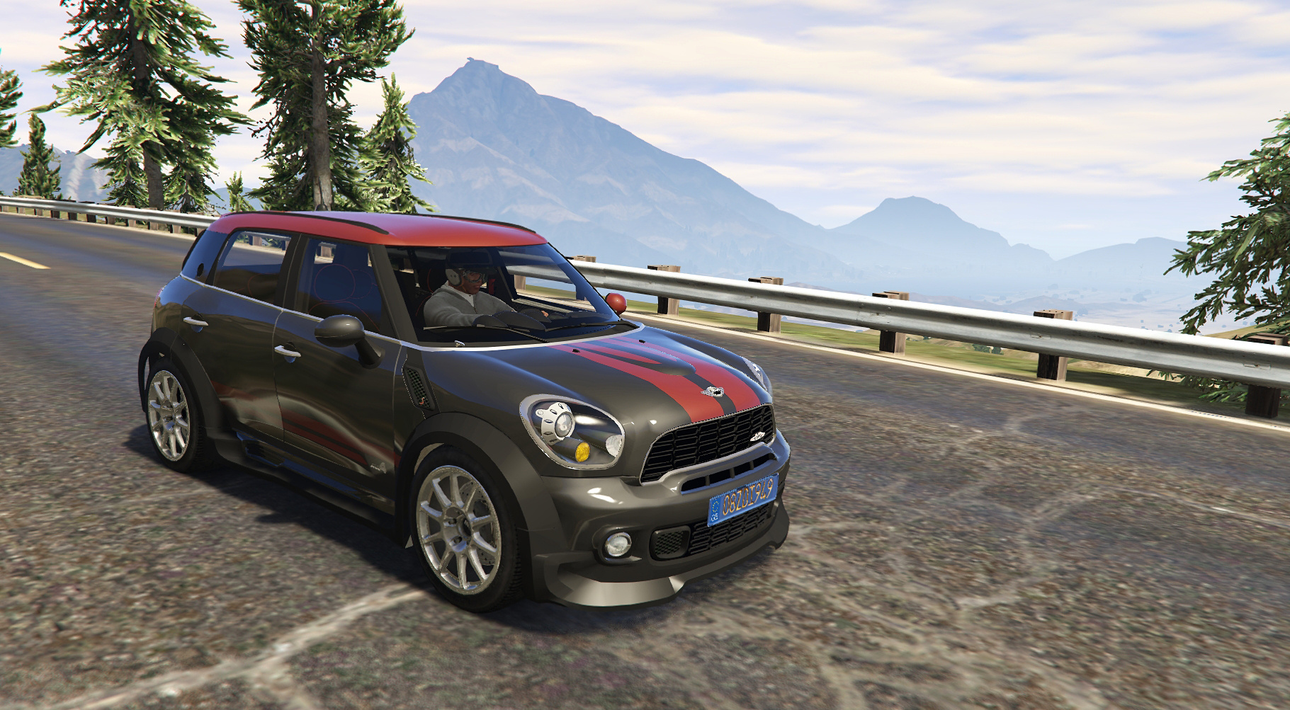 mini countryman rally 2in1 add on replace tuning. Black Bedroom Furniture Sets. Home Design Ideas