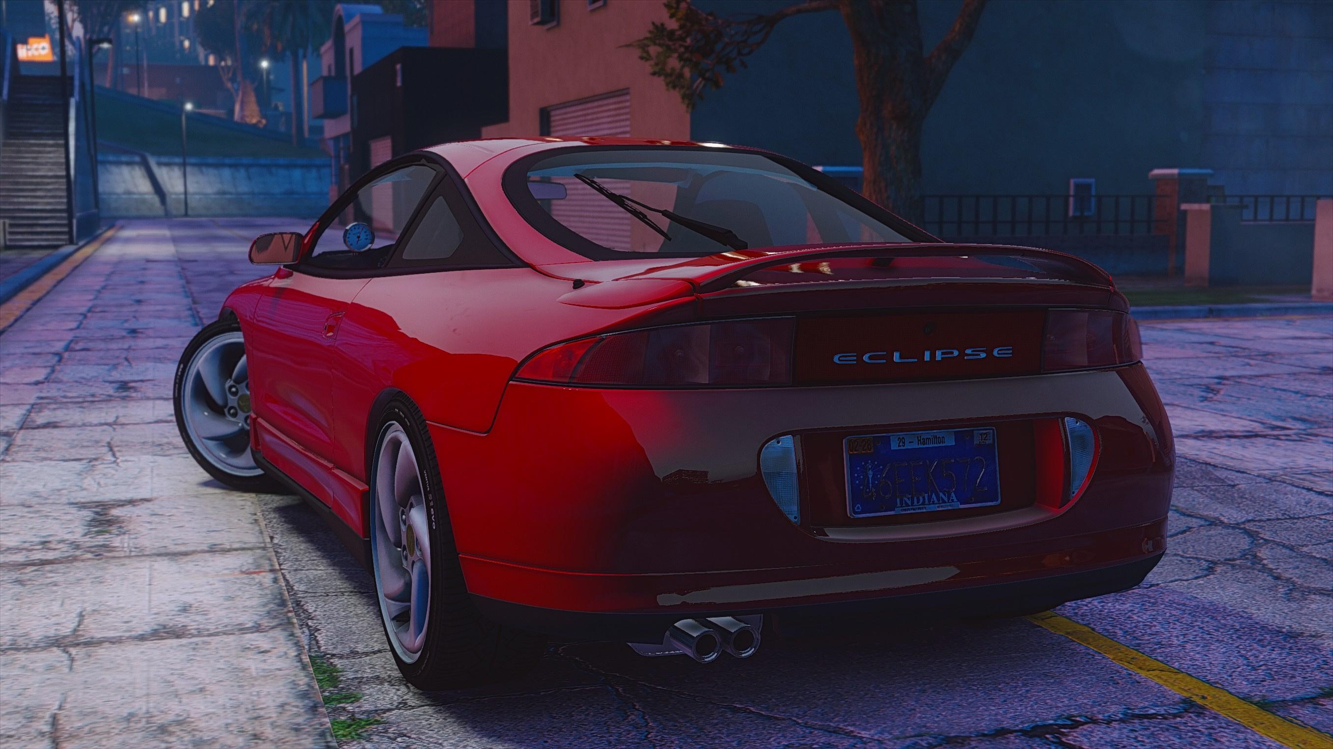 Mitsubishi Eclipse 2016 >> Mitsubishi Eclipse Gsx Add On Gta5 Mods Com