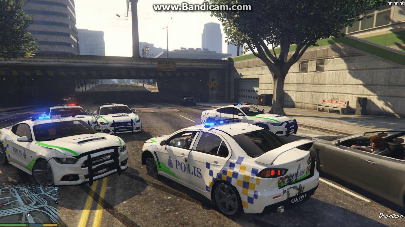 Mitsubishi Evo X Malaysian Police PDRM