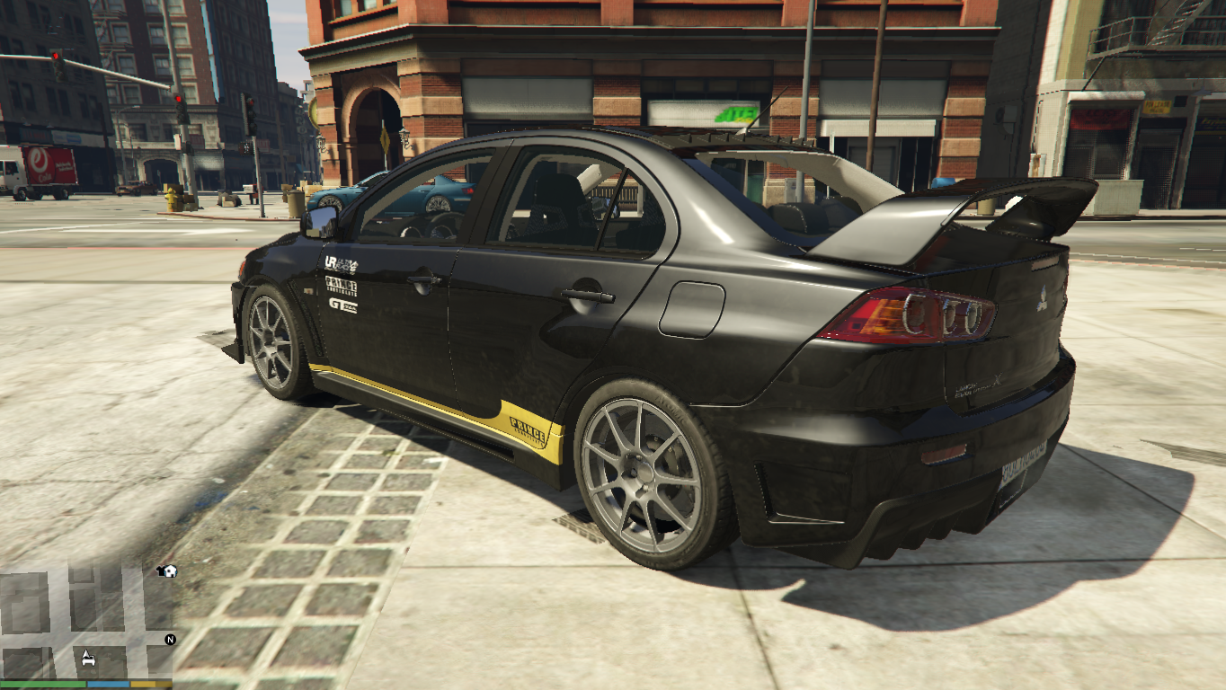 Mitsubishi Lancer Evolution X Skin From Polis EVO