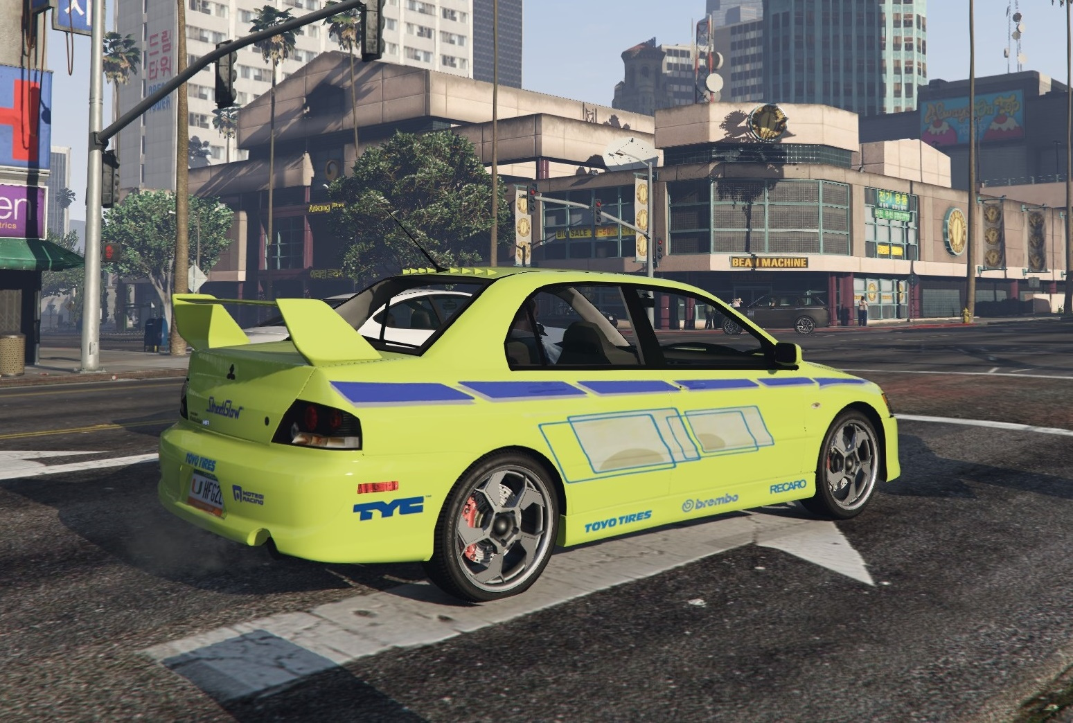 Mitsubishi Lancer 2 Fast 2 Furious Paintjob - GTA5-Mods.com