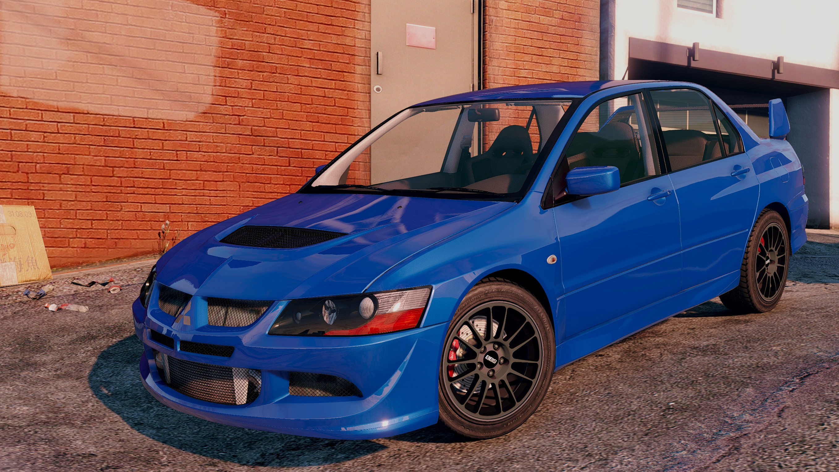 mitsubishi lancer evo 8 mr tuning gta5. Black Bedroom Furniture Sets. Home Design Ideas