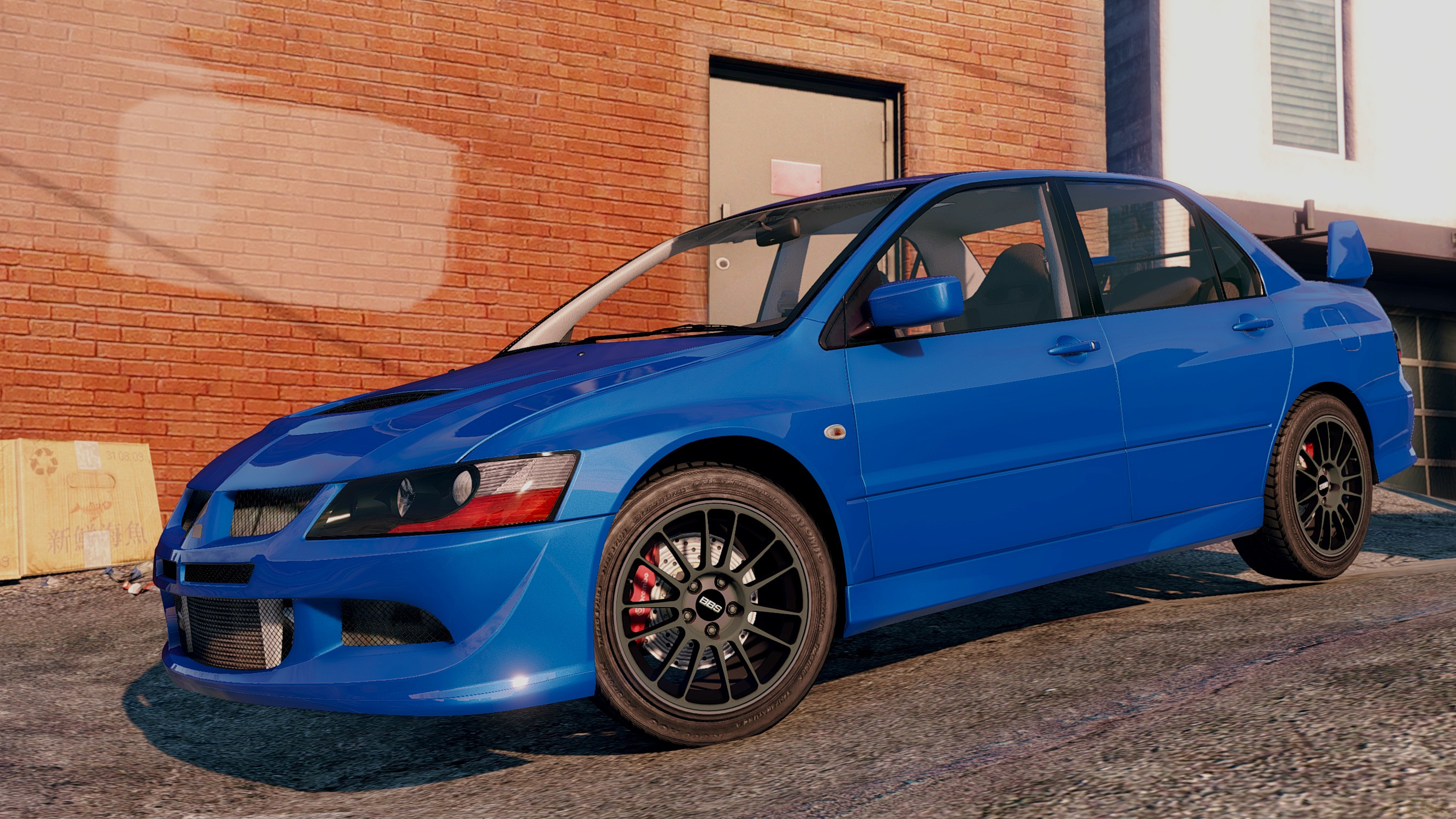 mitsubishi lancer evo 8 mr tuning