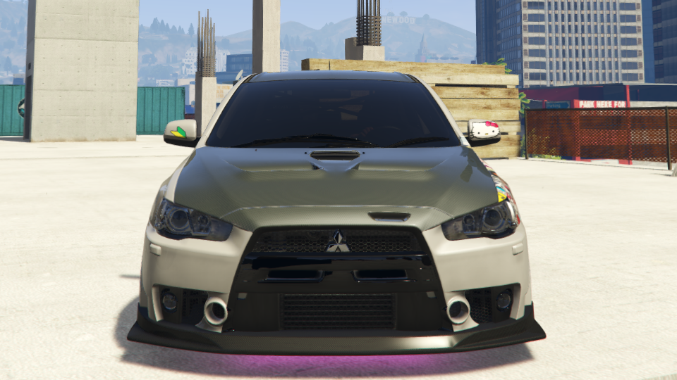 evolution out fiber hood a with carbon tricked photo lancer madwhips spotted original