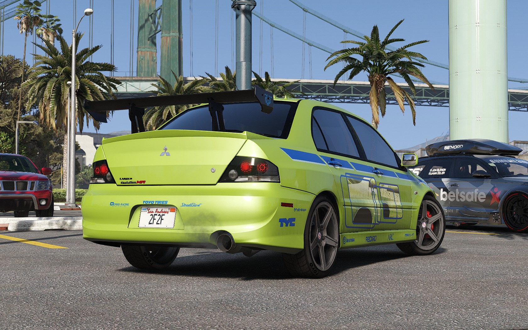Mitsubishi Lancer Evolution 2fast 2furious Gta5 Mods Com