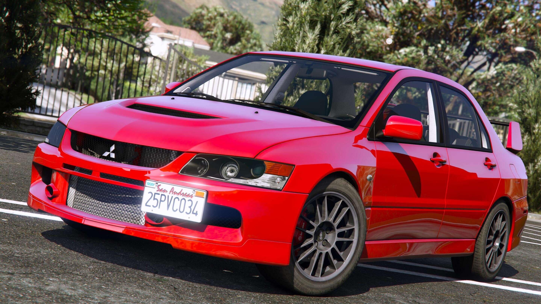 Mitsubishi Lancer Evolution Ix Mr Add On Gta5 Mods Com