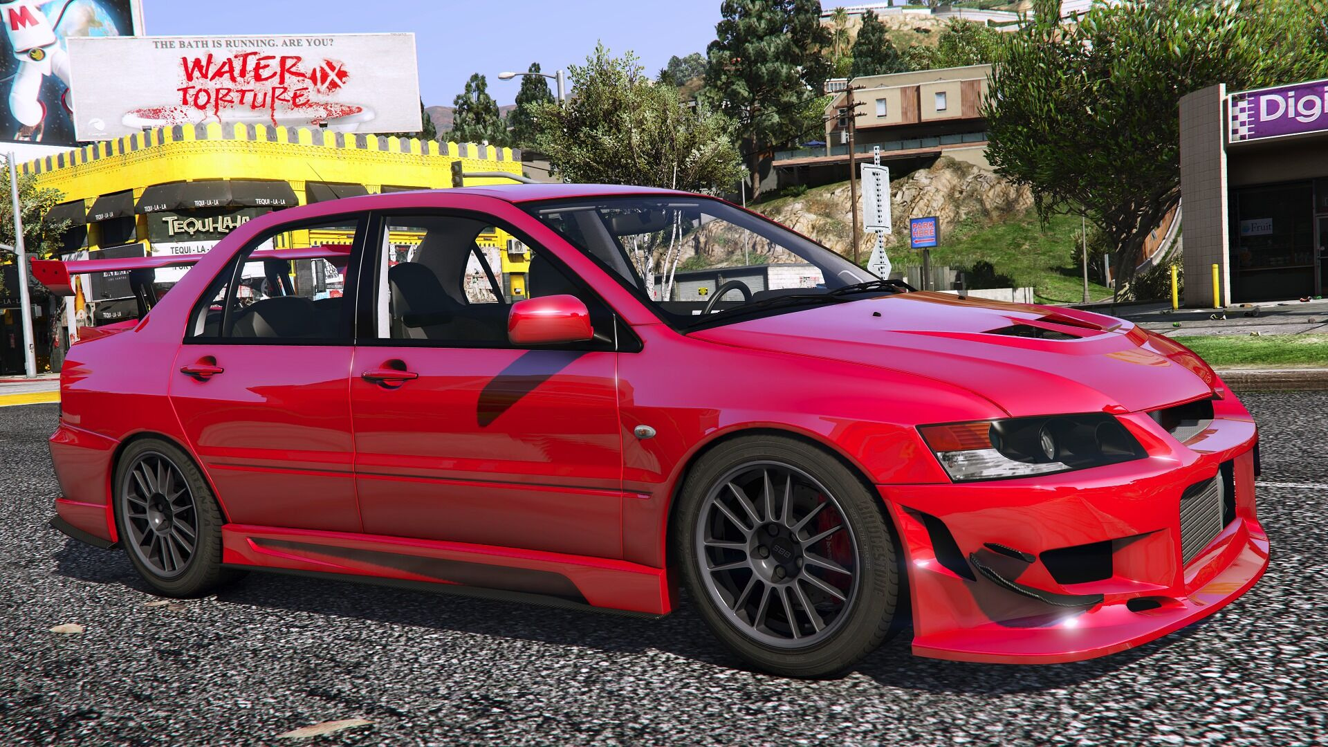 Mitsubishi Lancer Evolution Ix Mr Add On Gta5 Mods Com