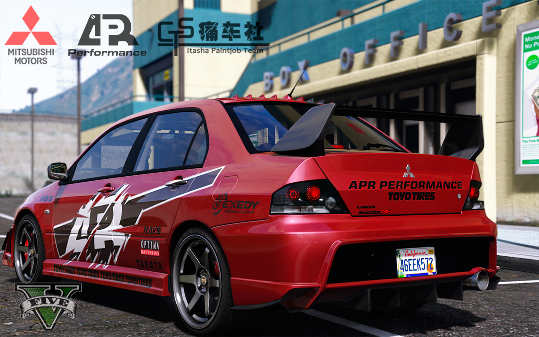 Mitsubishi lancer evolution ix mr apr performance gta5 mods f1d5dc 7 sciox Images