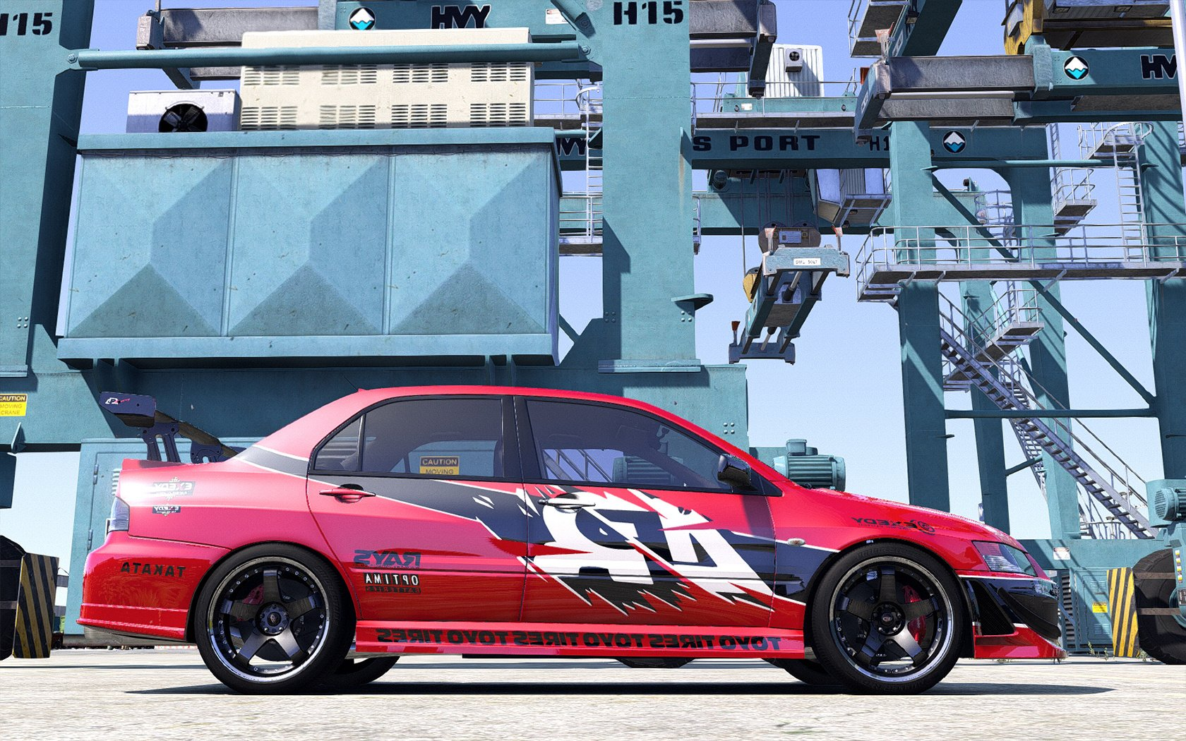 Mitsubishi Lancer Evolution The Fast And The Furious Tokyo Drift