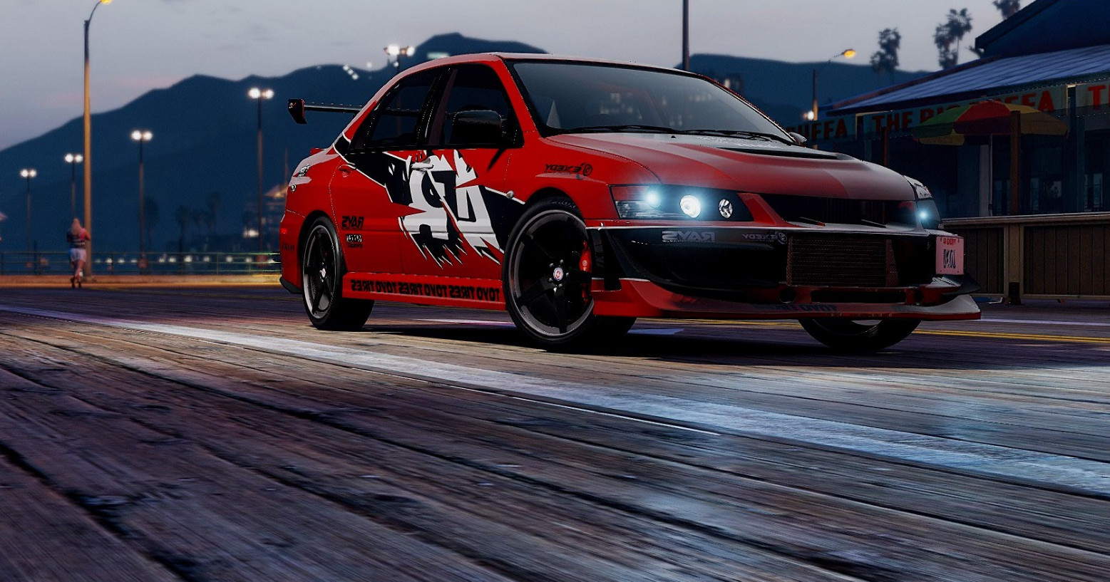 mitsubishi lancer evolution the fast and the furious tokyo drift gta5. Black Bedroom Furniture Sets. Home Design Ideas