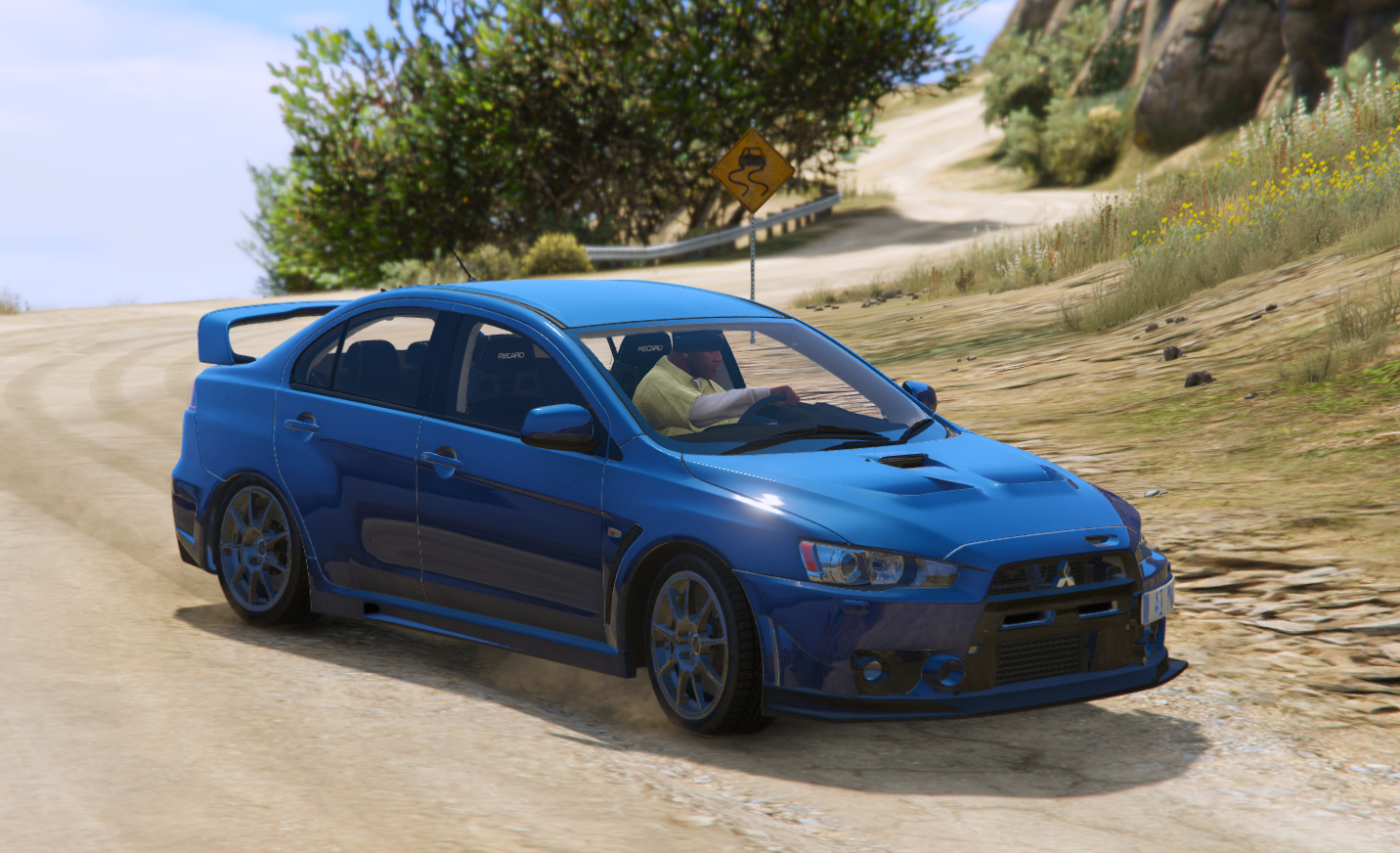 Mitsubishi Lancer Evolution X FQ 400 Add On