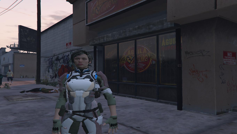 MK11-Cassie Cage [Add-On Ped] 4K - GTA5-Mods com