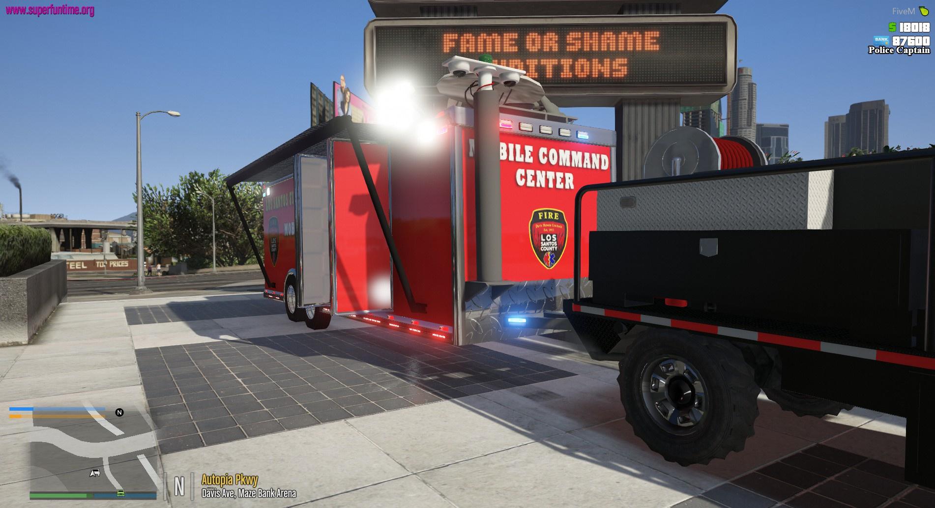 Mobile Command Trailer - GTA5-Mods com