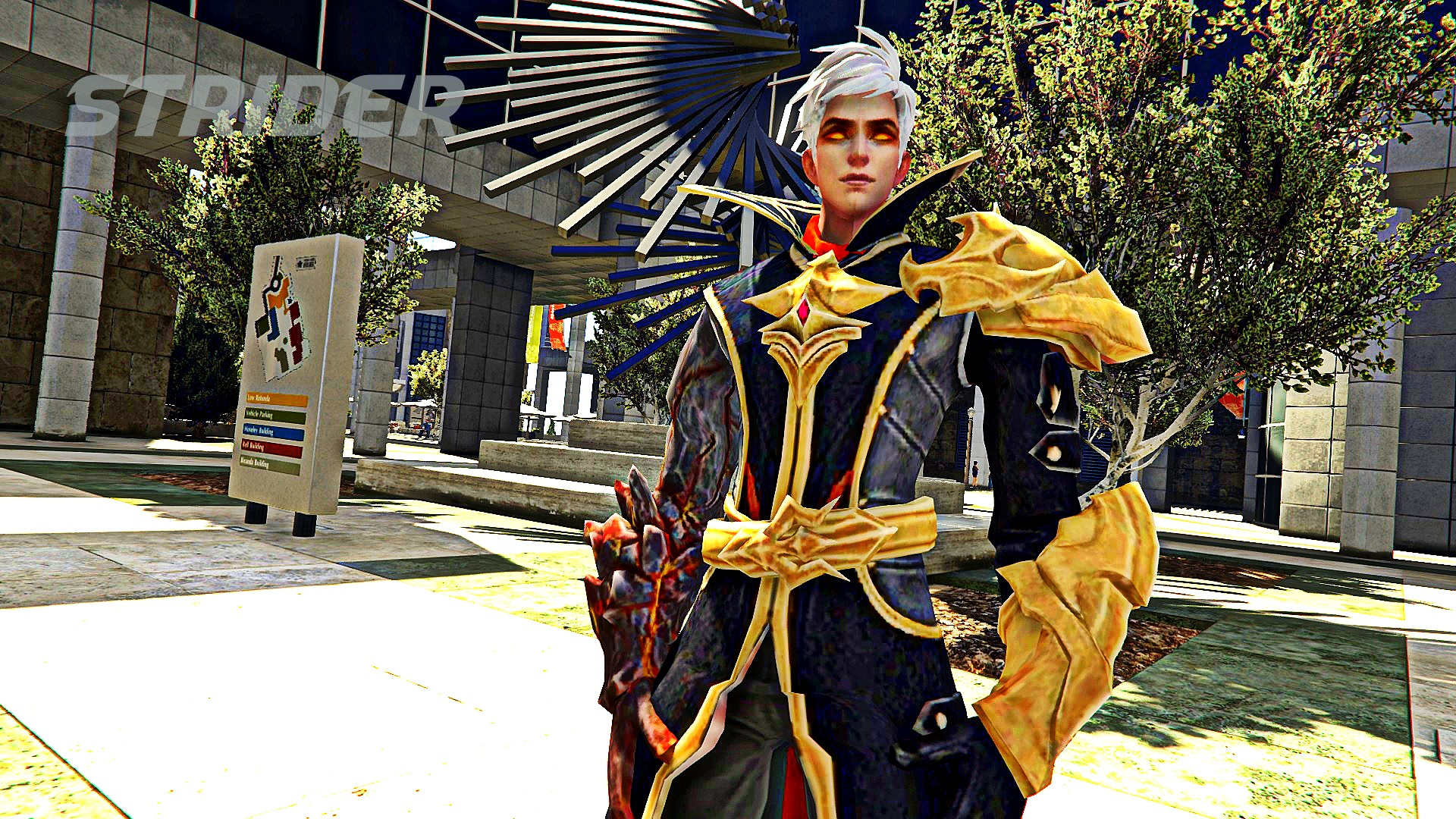 Mobile Legends Alucard Fiery Inferno [Add On] GTA5 Mods