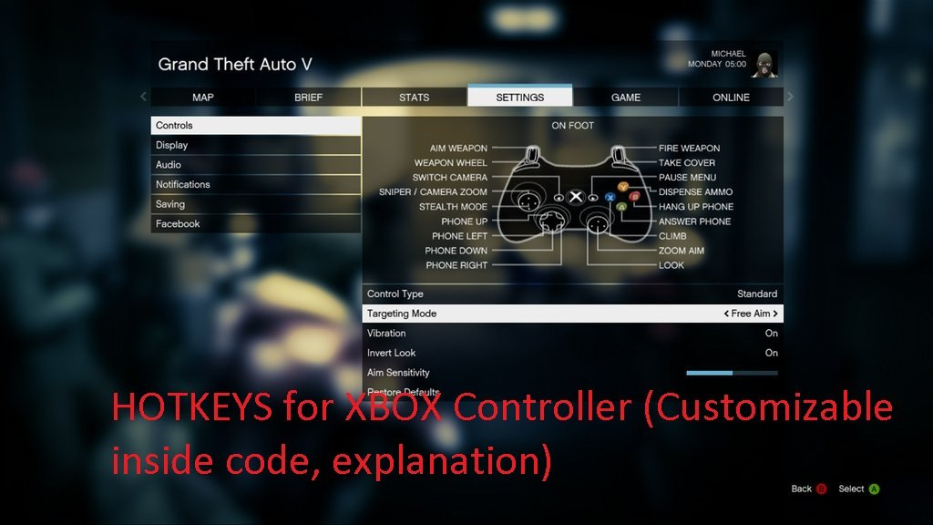 Modded Hotkeys for Xbox Controller (Customizable) + Useful Scripts
