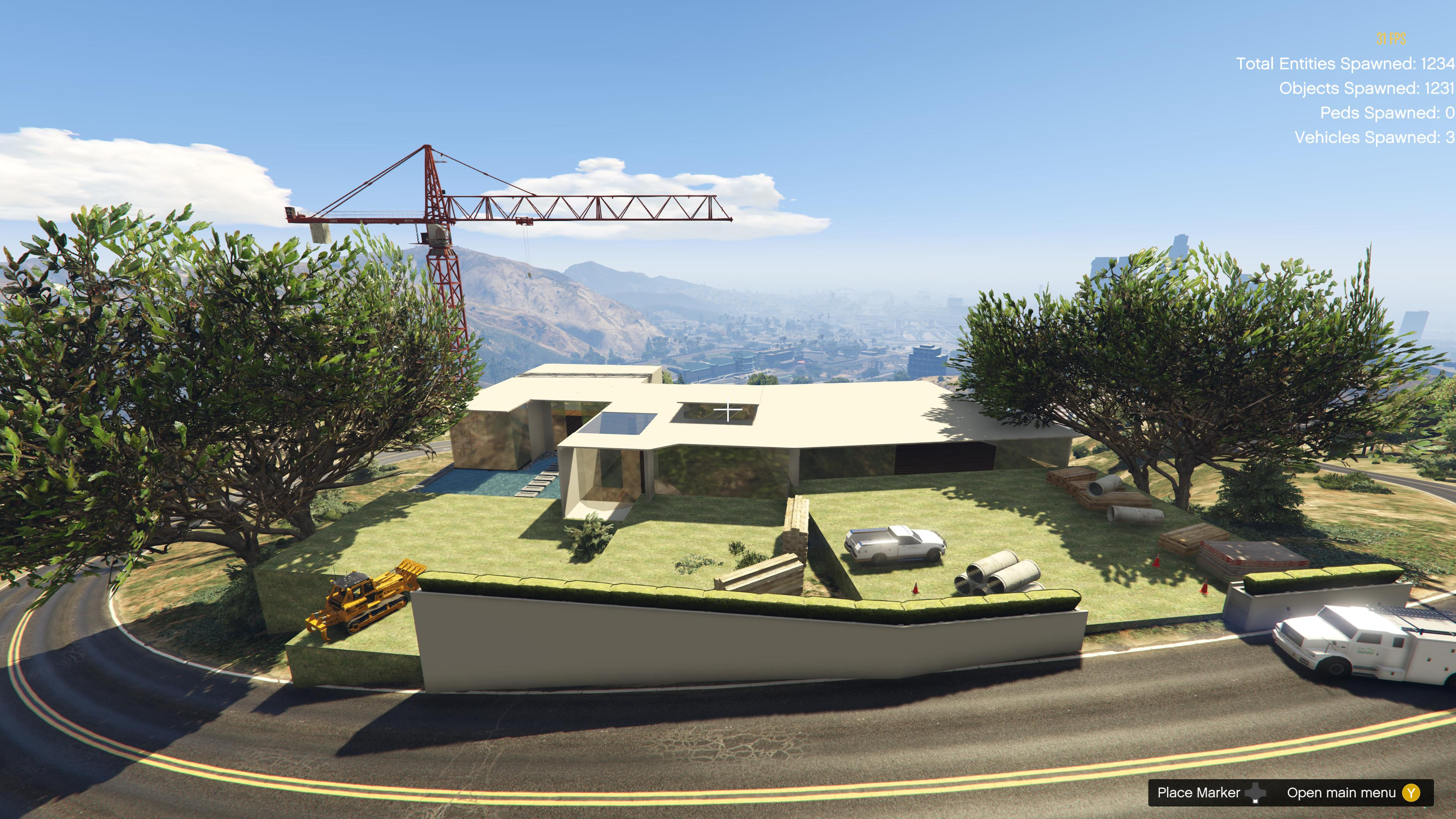 Modern Mansion under construction [Menyoo] - GTA5-Mods com