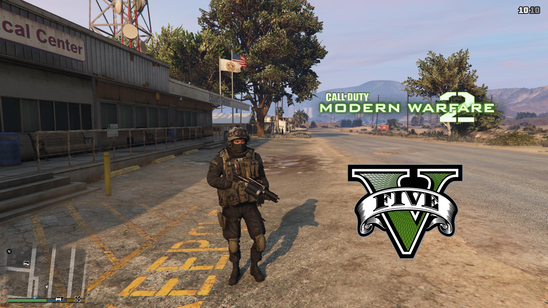 Modern Warfare 2 Shadow Company [Add-On Ped] - GTA5-Mods com