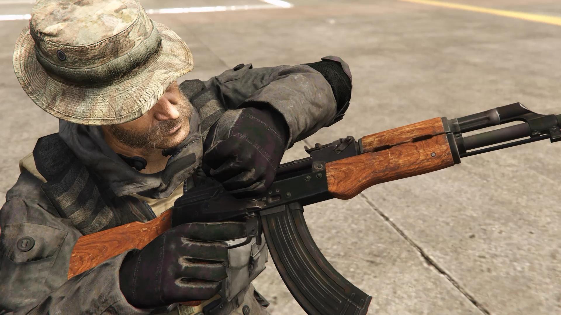 Modern Warfare Remastered AK-47 [2K I HP I Full Animated] - GTA5