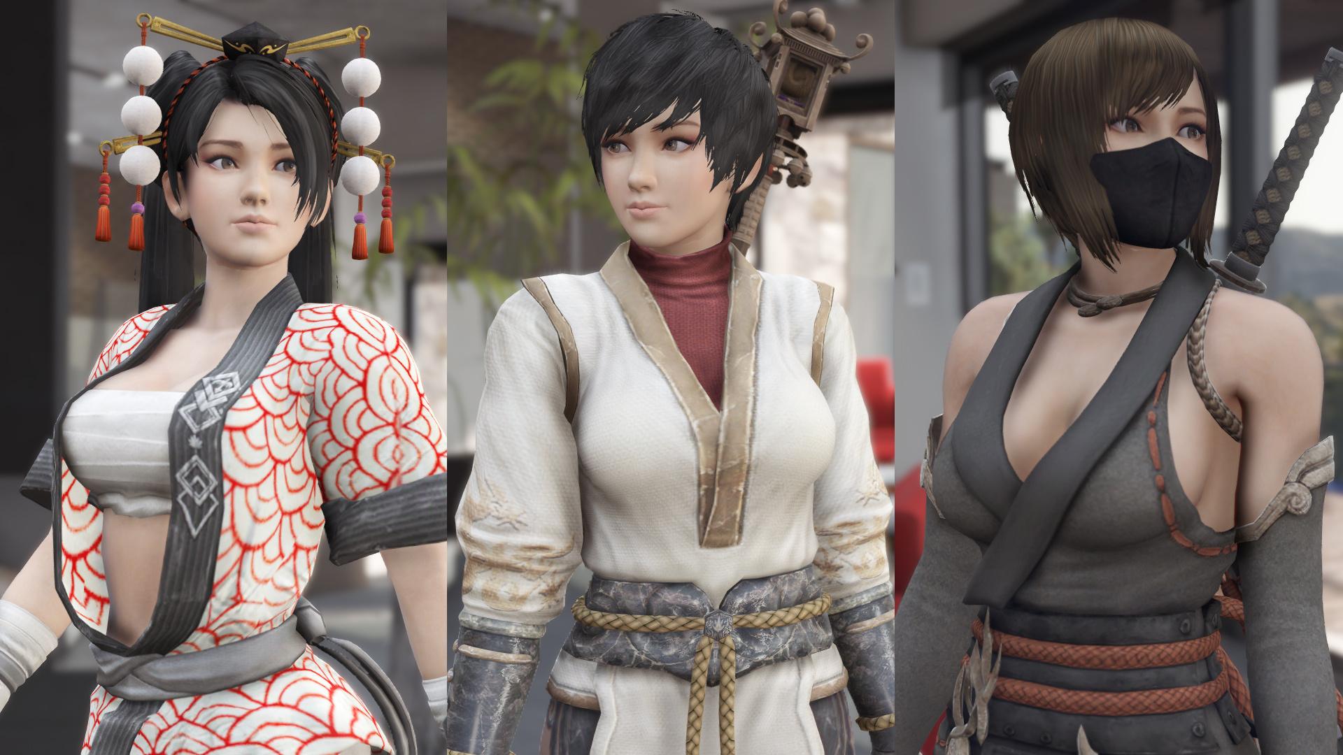 Skin Momiji Gta Sa: Momiji Ninja Gaiden [Add-On Ped / Replace]