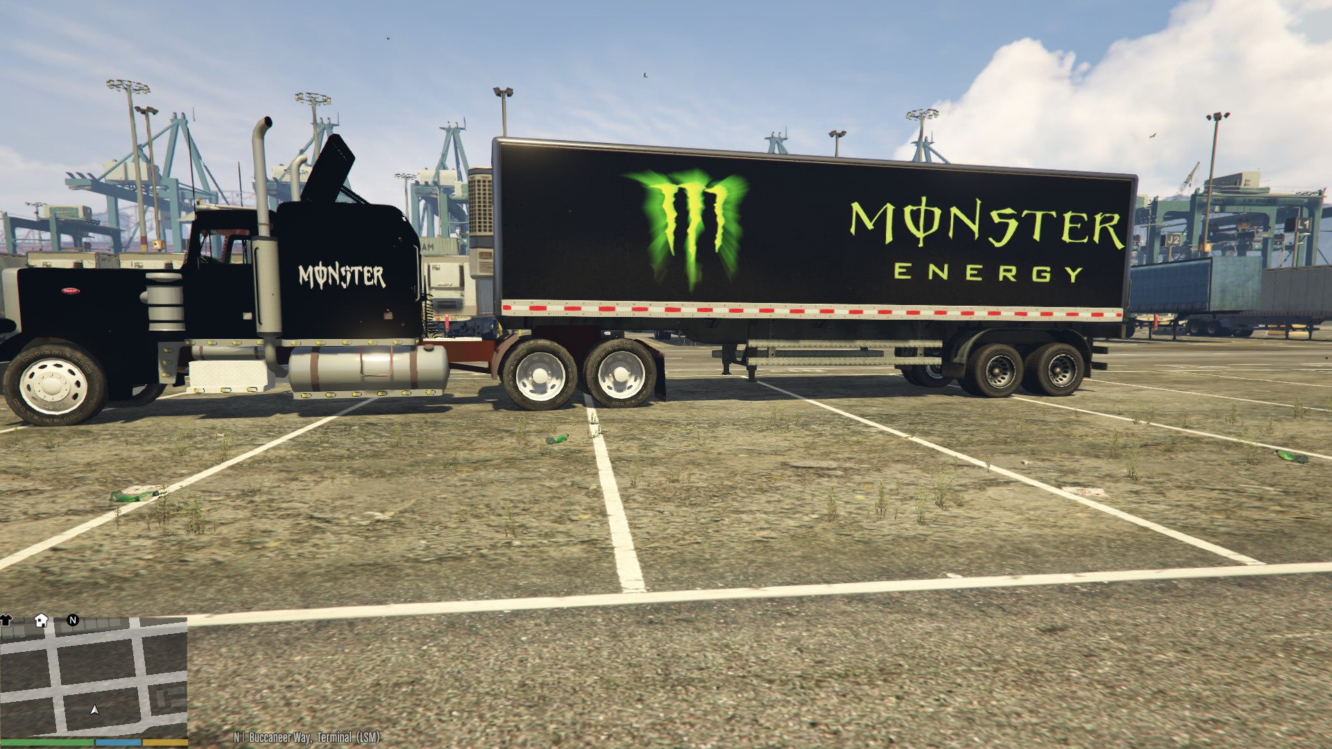 How Much Does A Monster Truck Cost >> Monster Energy Truck - Ace Energy