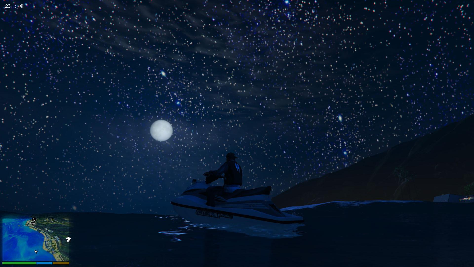 More Stars In The Sky Gta5 Mods Com