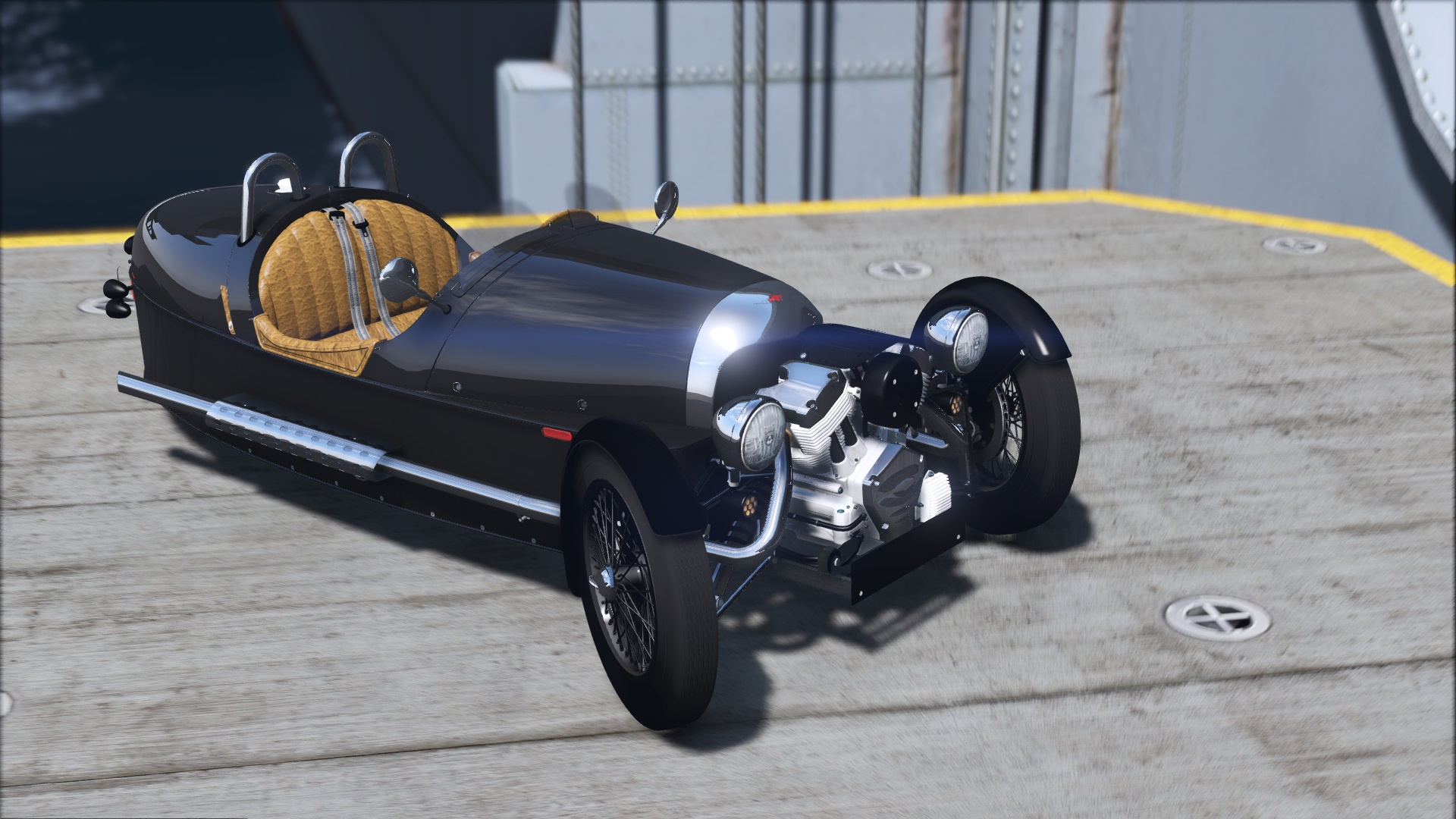 morgan 3 wheeler 2014 add on gta5. Black Bedroom Furniture Sets. Home Design Ideas