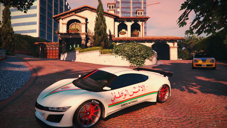 Moroccan Police car texture for Jester 2 - GTA5-Mods.com
