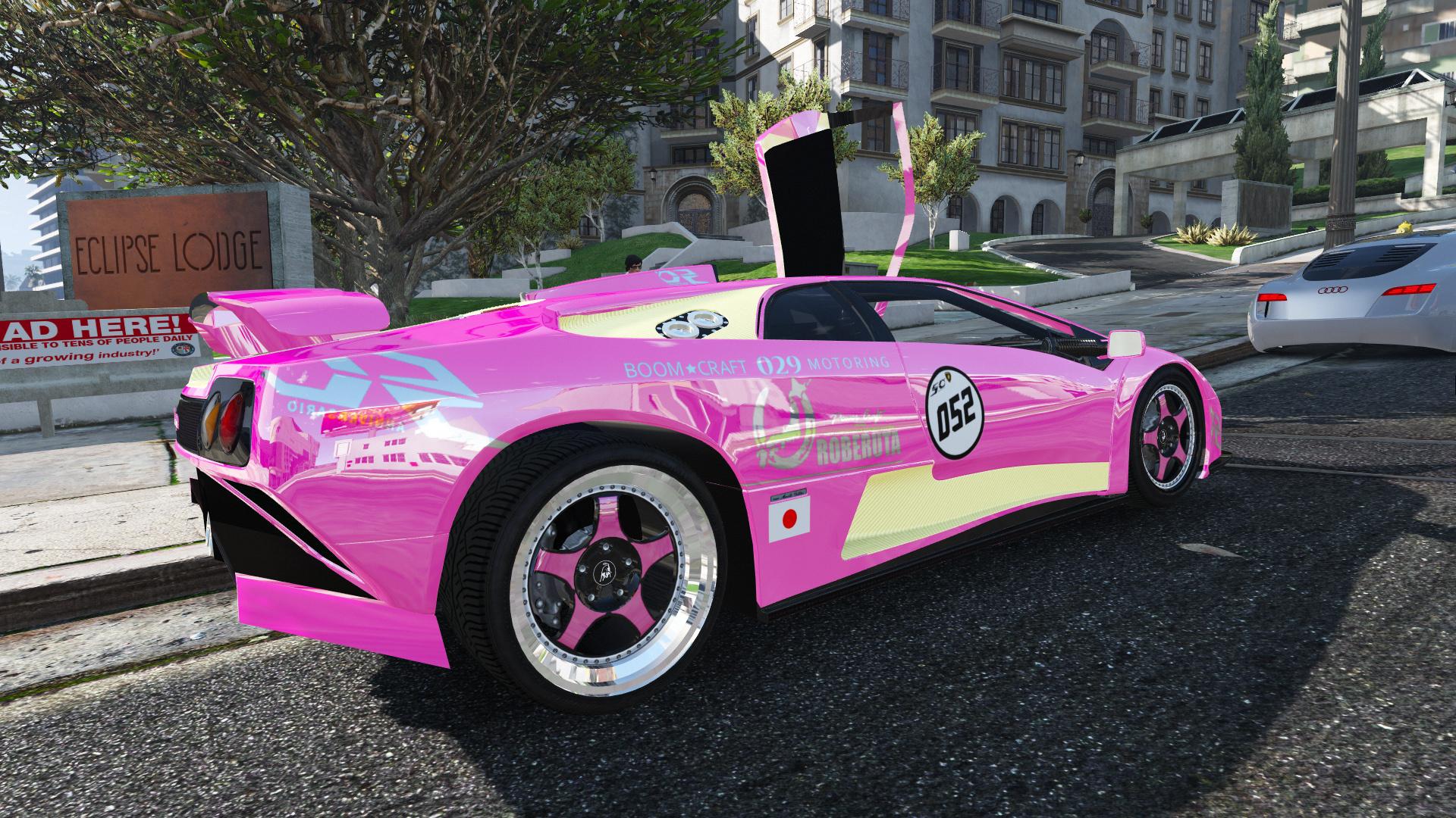 Morohoshi S Lamborghini Diablo Gt Add On Gta5 Mods Com