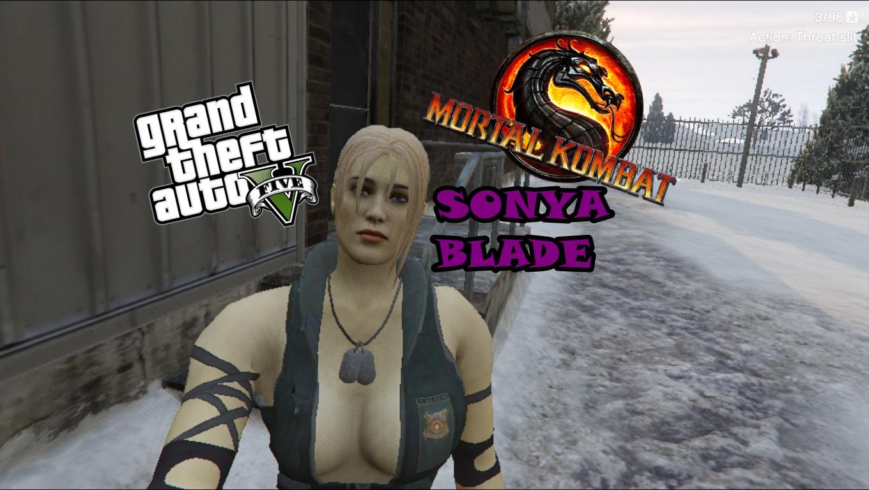Mortal Kombat Sonya Blade Gta5 Mods Com