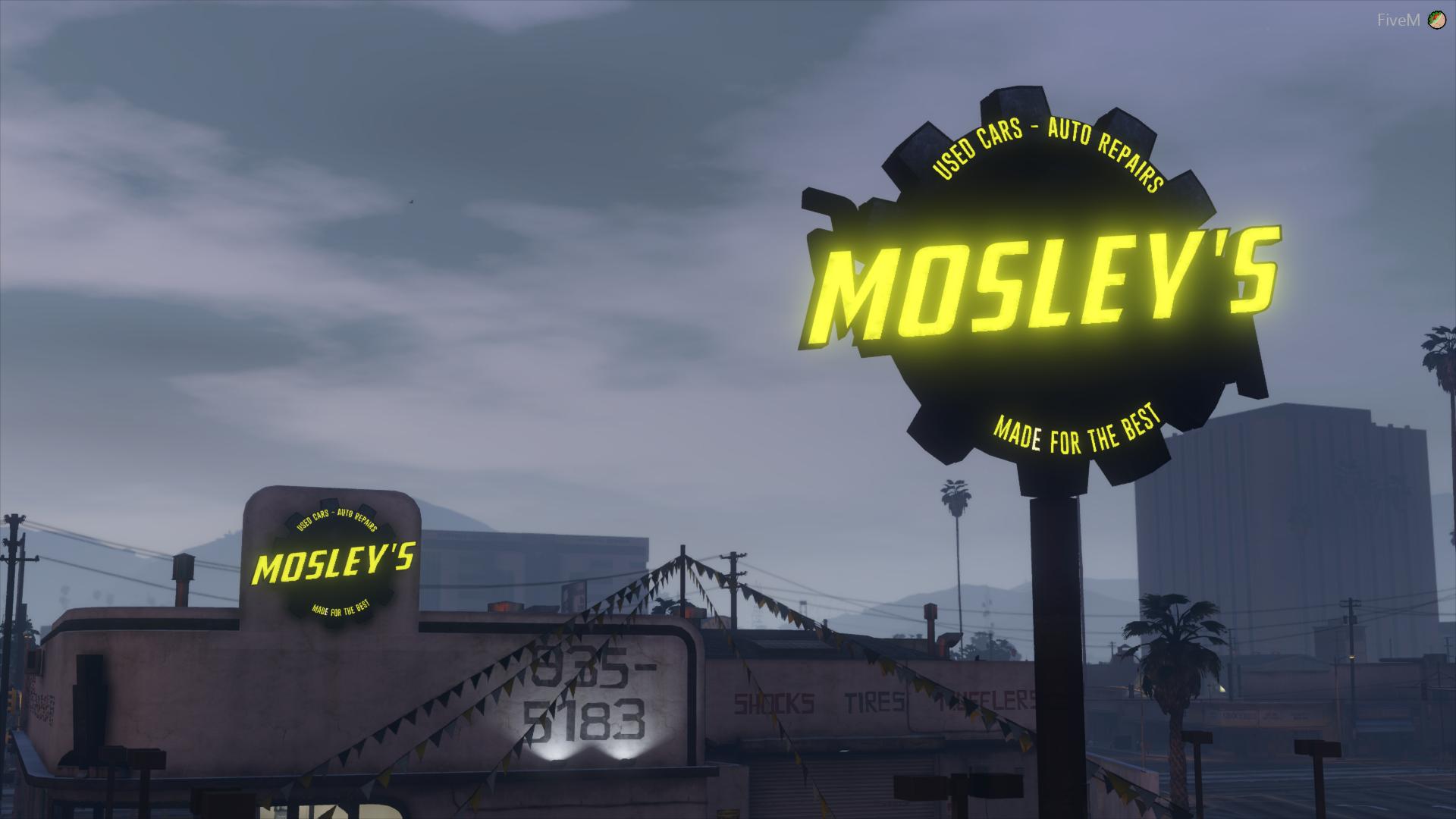 [GTA 5] Автосалон Mosley's для сервера