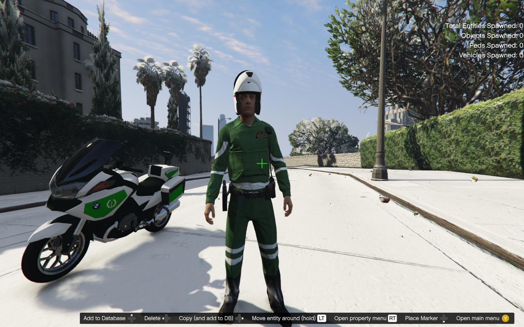 Moto Gendarmerie Algerie Gta5 Mods Com