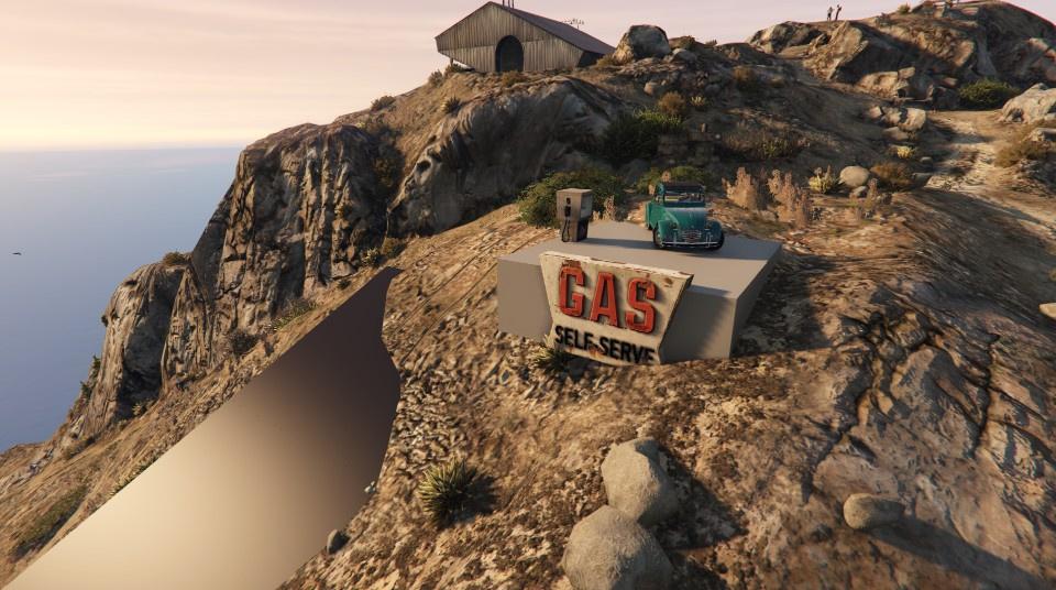 mount chiliad road gta5 mods