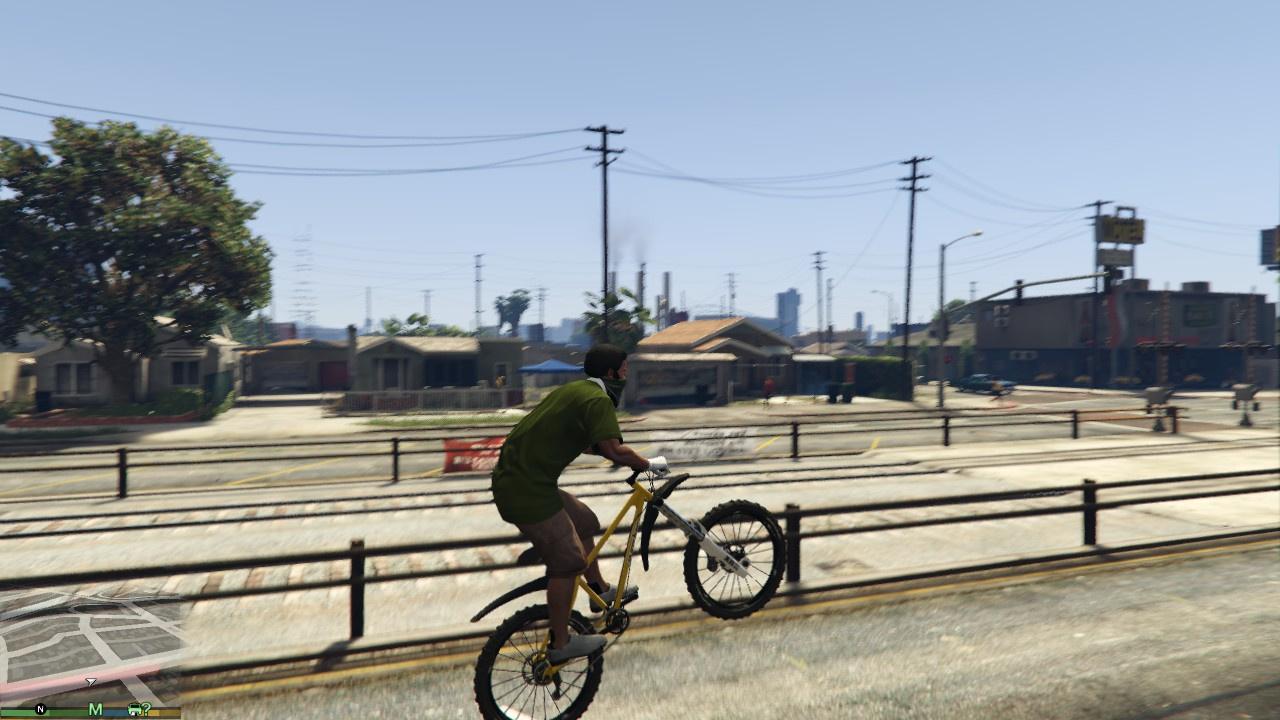 How To Do A Wheelie On Bmx Bike Gta5 Youtube