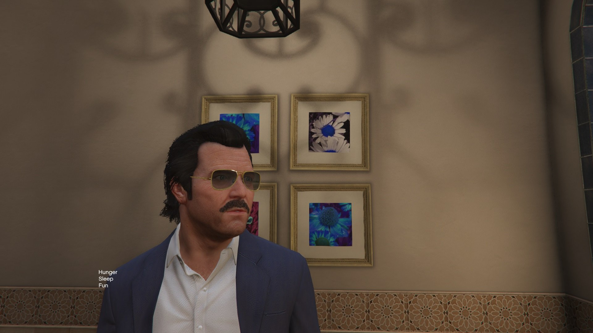 Moustache for Michael - GTA5-Mods.com