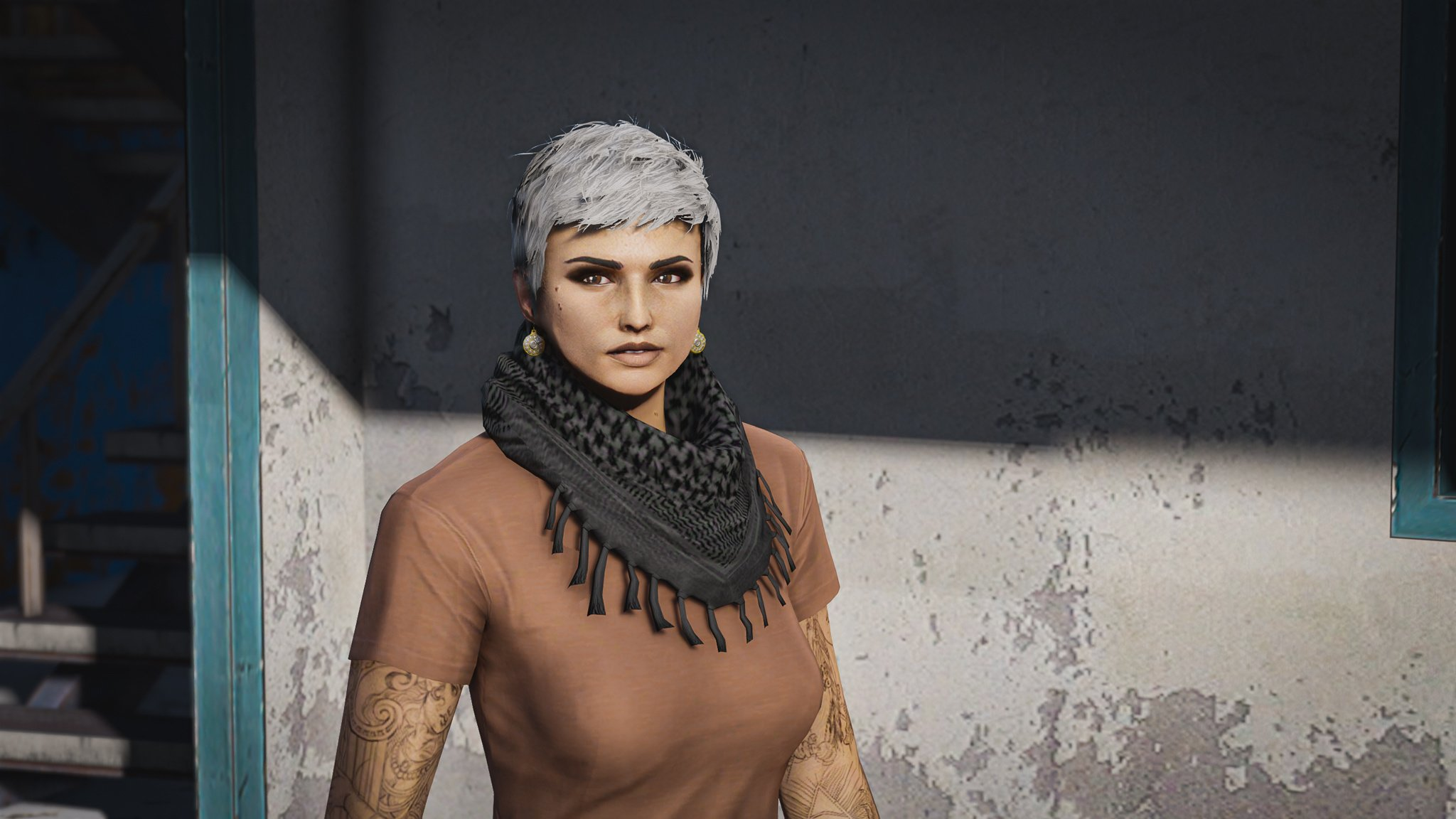 GTA 5 ONLINE | Aiden Female Character Creation ♡ - YouTube
