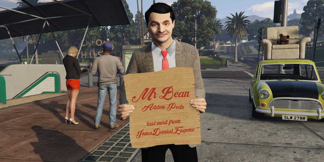 Mr bean add on ped gta5 mods 43fdeb bean solutioingenieria Choice Image