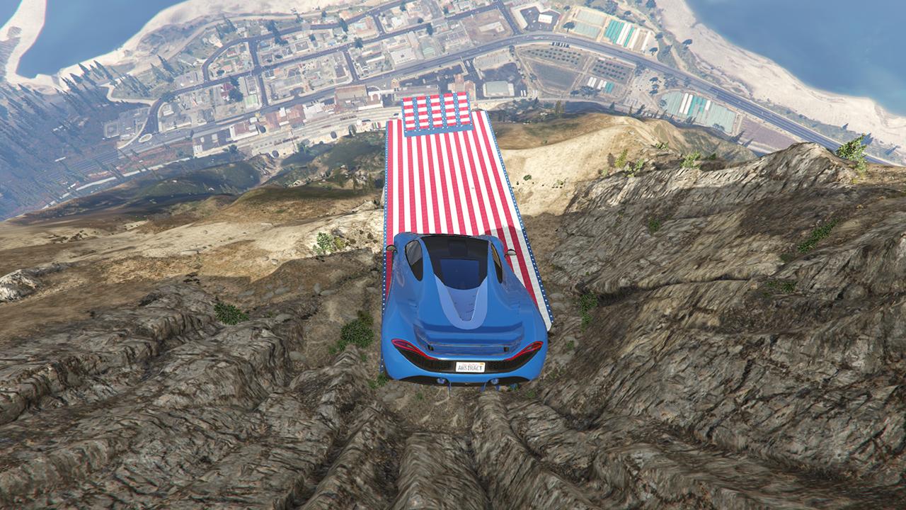 Mt Chiliad Stunt Jump  GTA5Modscom