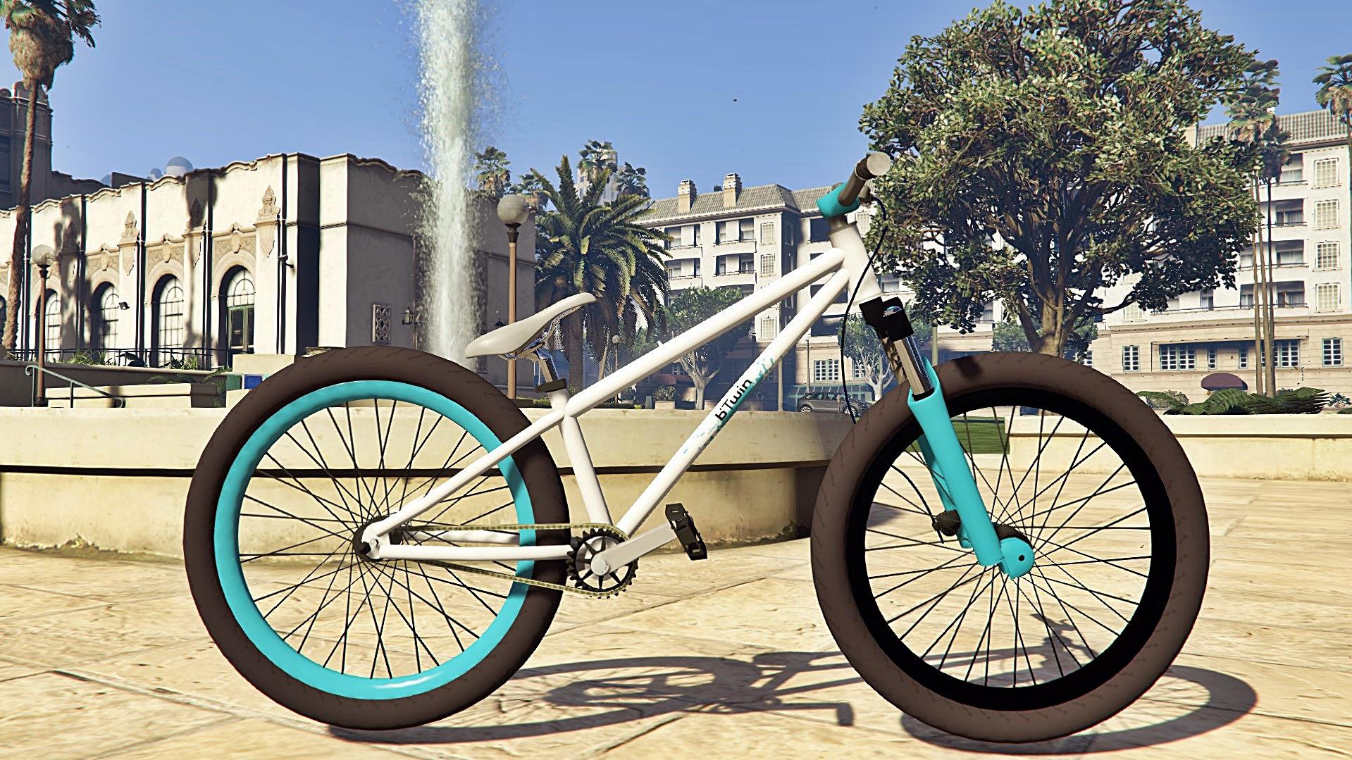MTB Dirt Bike - BTwin [Add-On / Replace] - GTA5-Mods.com