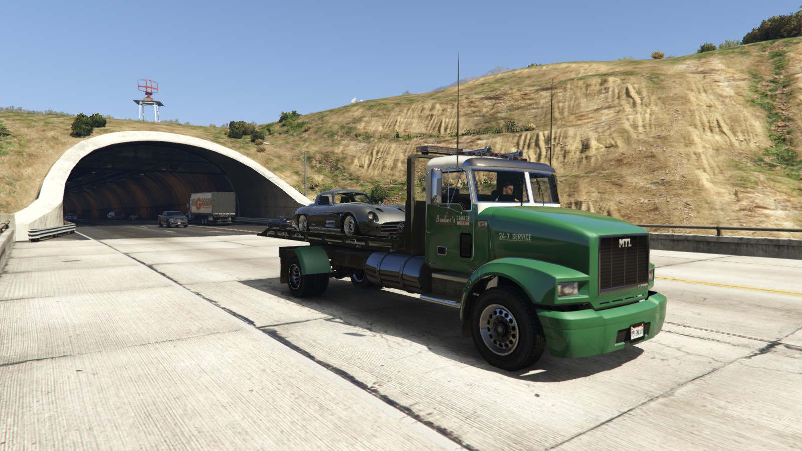 Mtl Flatbed Tow Truck Add On Replace Non Els Liveries Template Gta5 Mods Com