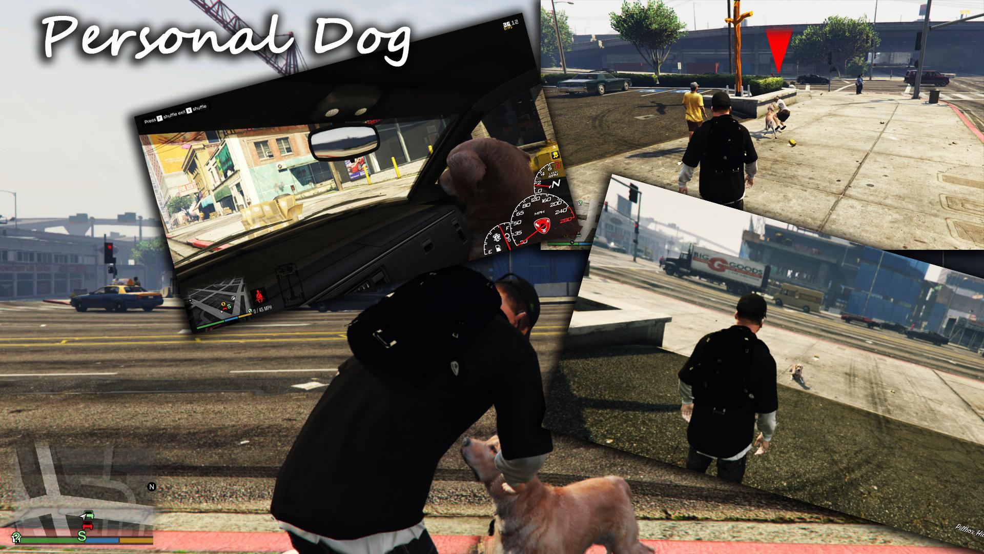 Personal Dog - GTA5-Mods com