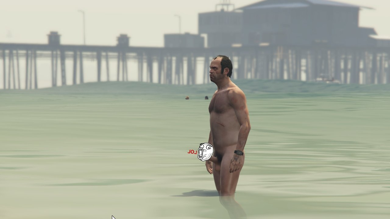 Does not gta 5 nude mod could