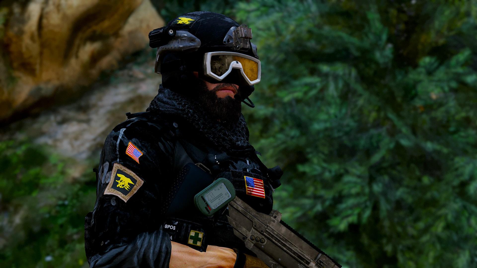 Navy Seals Blackbeard R6 Add On Only Gta5 Mods Com