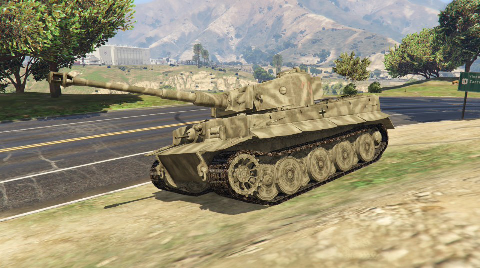 Tiger I World War Ii Tank Add On Gta5 Mods Com