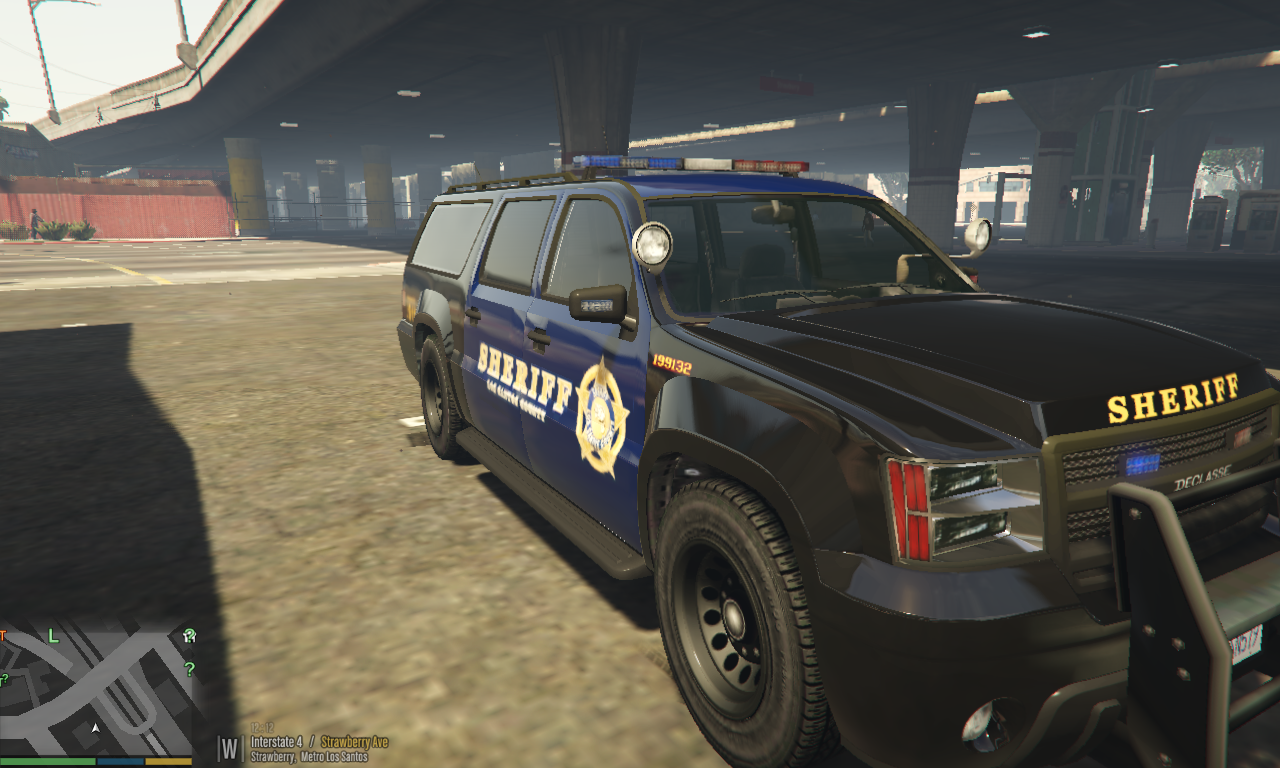 NCNFR's Sherrif Dark Blue Texture Pack For LSPDFR [Non-ELS