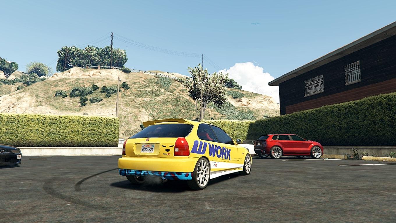 speed  livery  honda civic ek gta modscom
