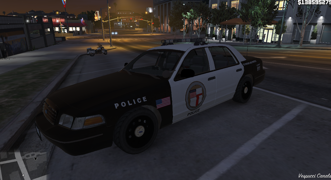Need For Speed 2015 Ventura Bay Police Cvpi With Whelen